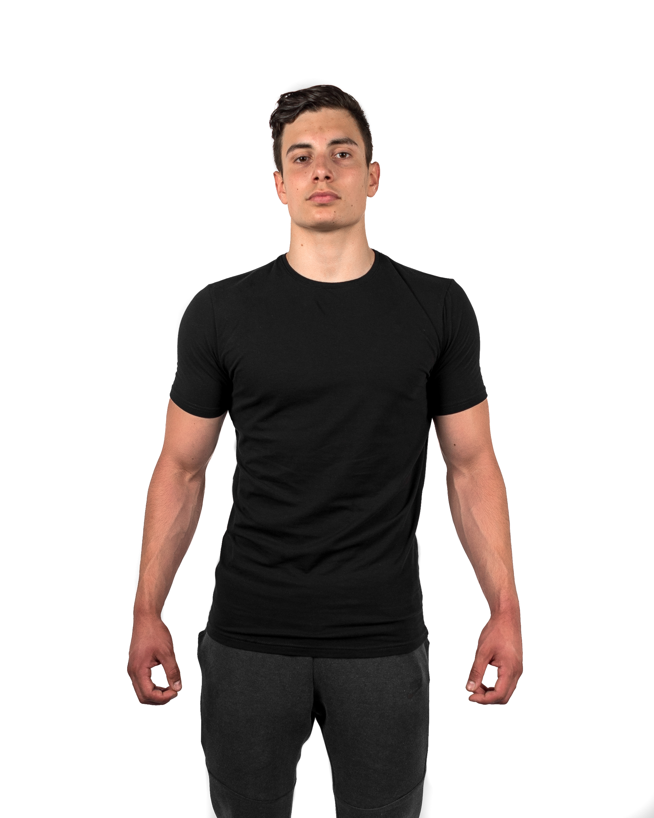 4b8b5639 The Muscle Fit Tee - Gymfuse