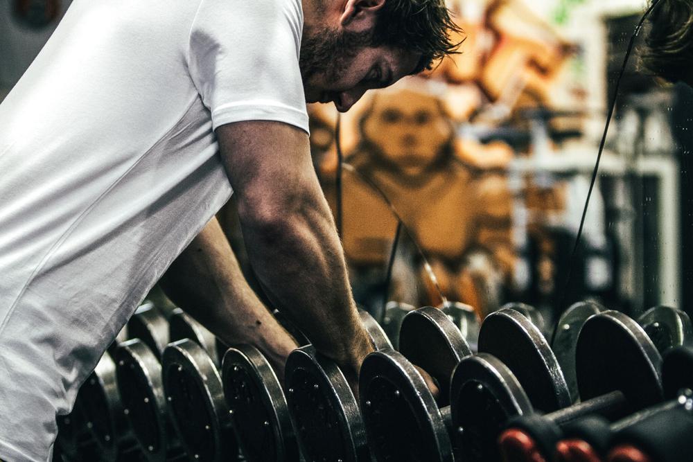 Gymfuse muscle tee