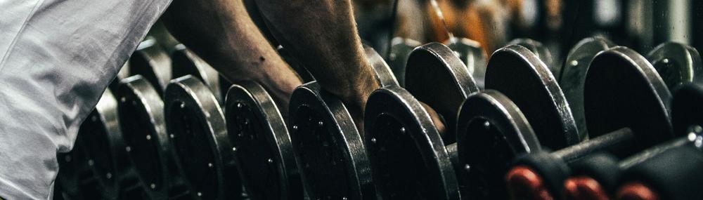 Gymfuse muscle tee dumbells