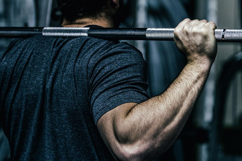 Gymfuse Muscle Tee dark