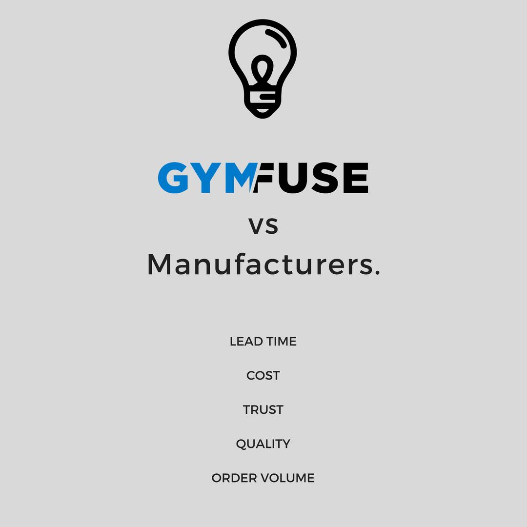 GymFuse vs Manufacturers